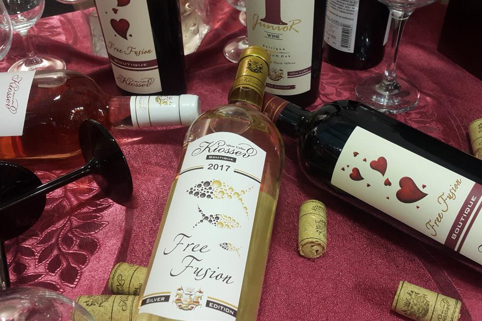"Купи онлайн бяло, червено, десертно вино и розе ""Кьосев"""